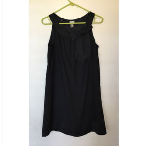 H&M Little Black Dress Lined Sleeveless with Bow
